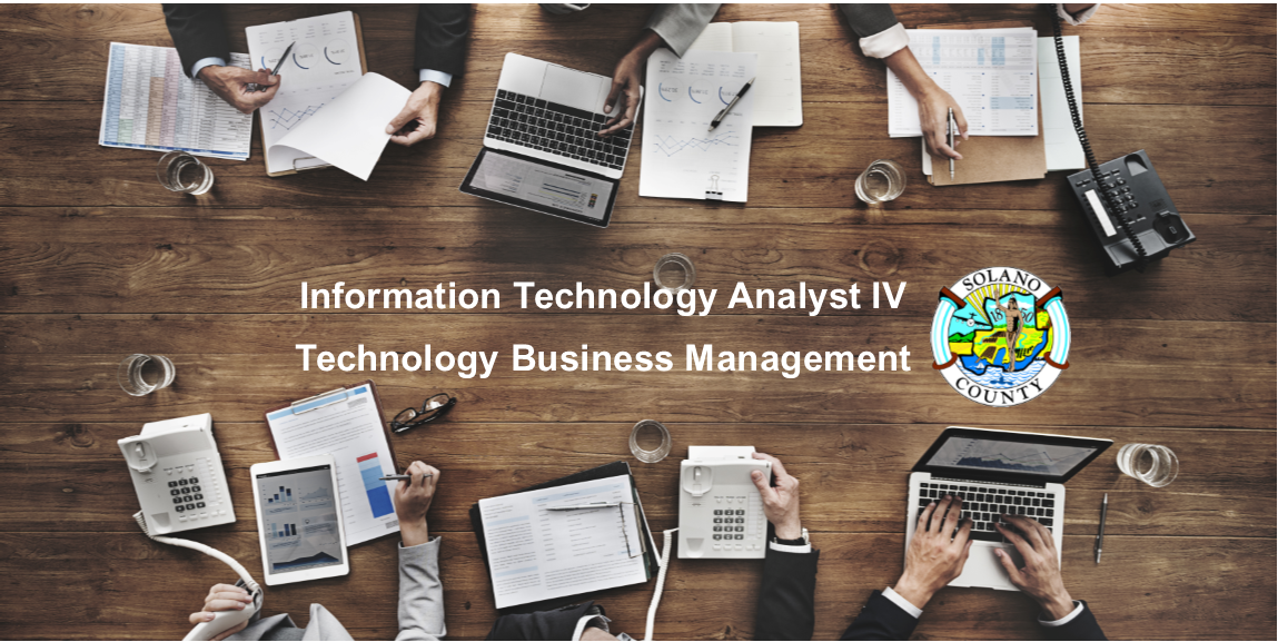 Job Announcement: Information Technology Analyst IV - County